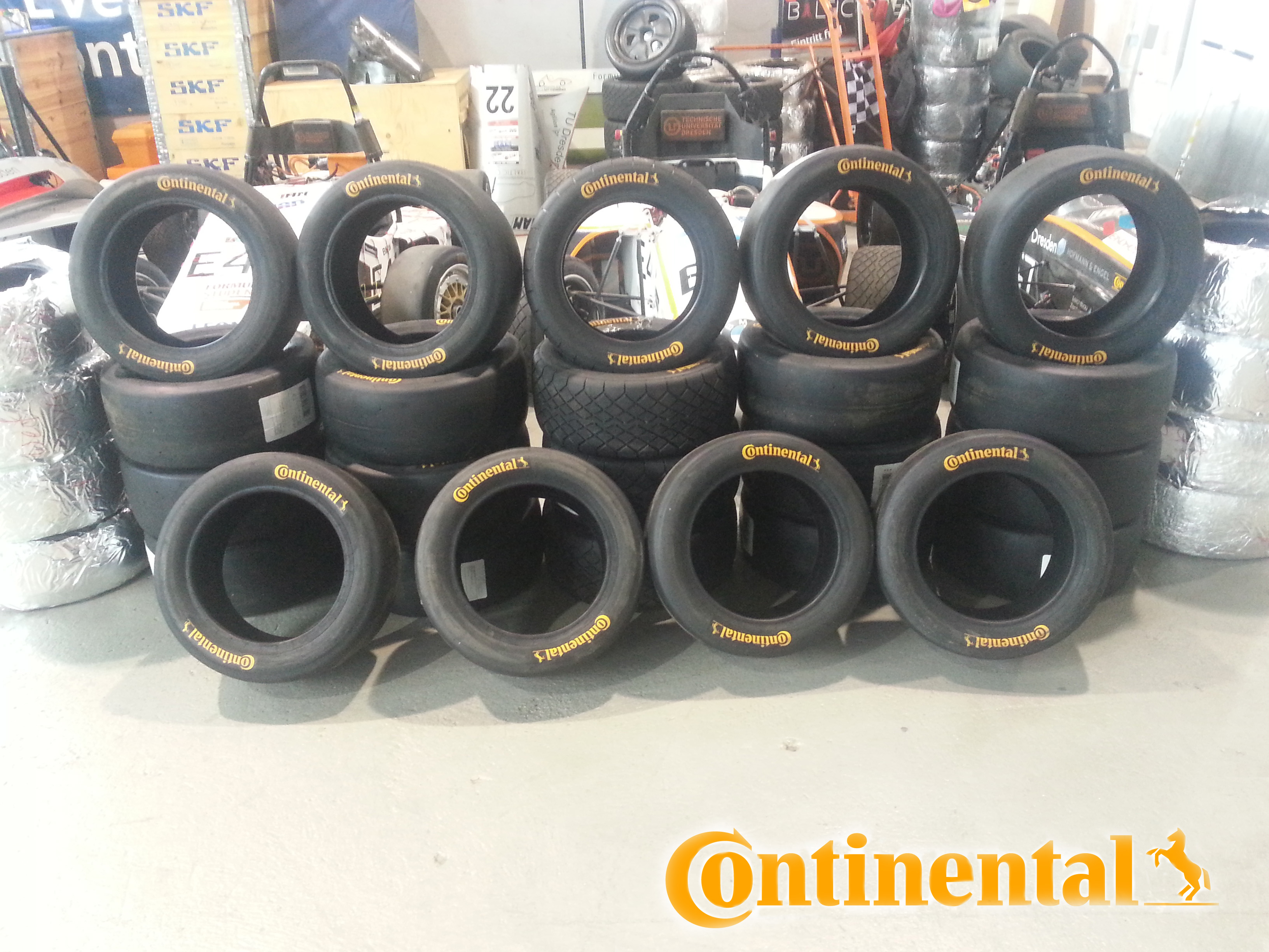 Racing tyres from Continental