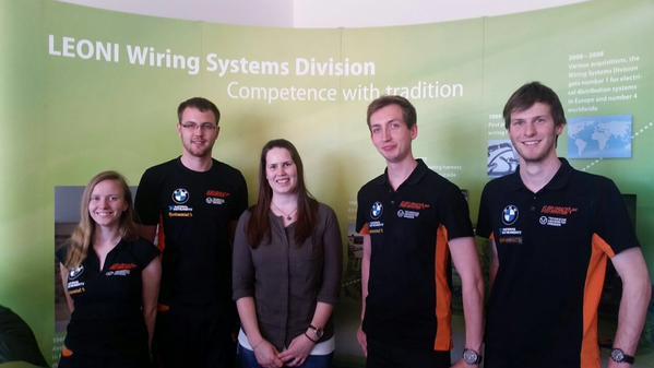 Leoni AG: factory visit in Kitzingen