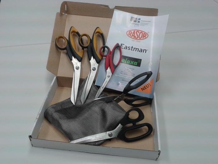 Carbon-fiber scissors from RH-Schneidtechnik