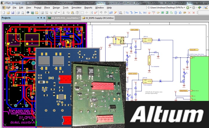 From concept to finished circuit board thanks to Altium Europe