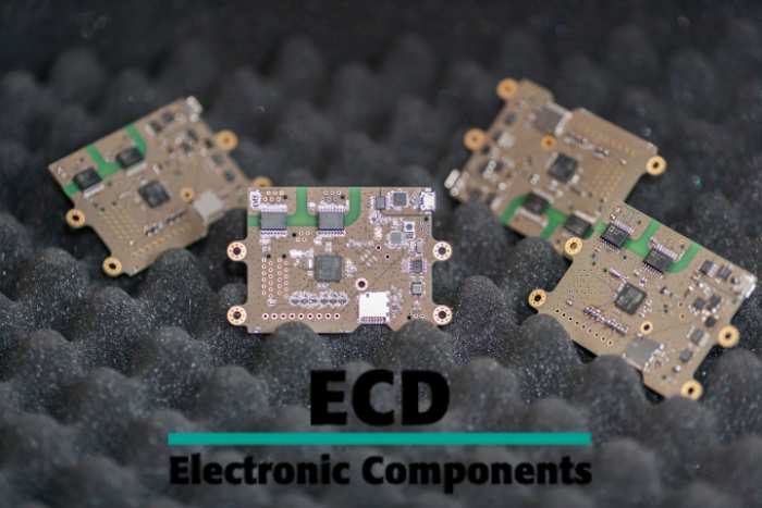 Circuit board production at ECD