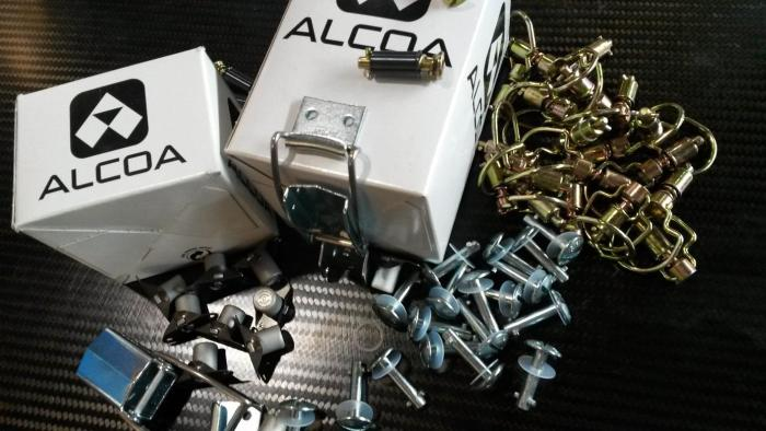 Quick release fasteners from Alcoa
