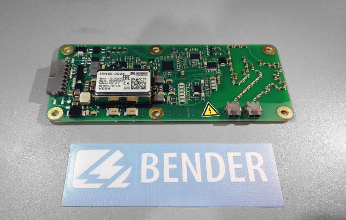 Bender sponsors us the Insulation Monitoring Device