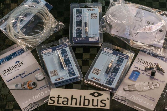 Bleeder valves from -Stahlbus-