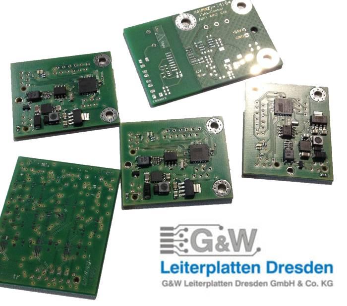Going smart thanks to G&W Leiterplatten Dresden