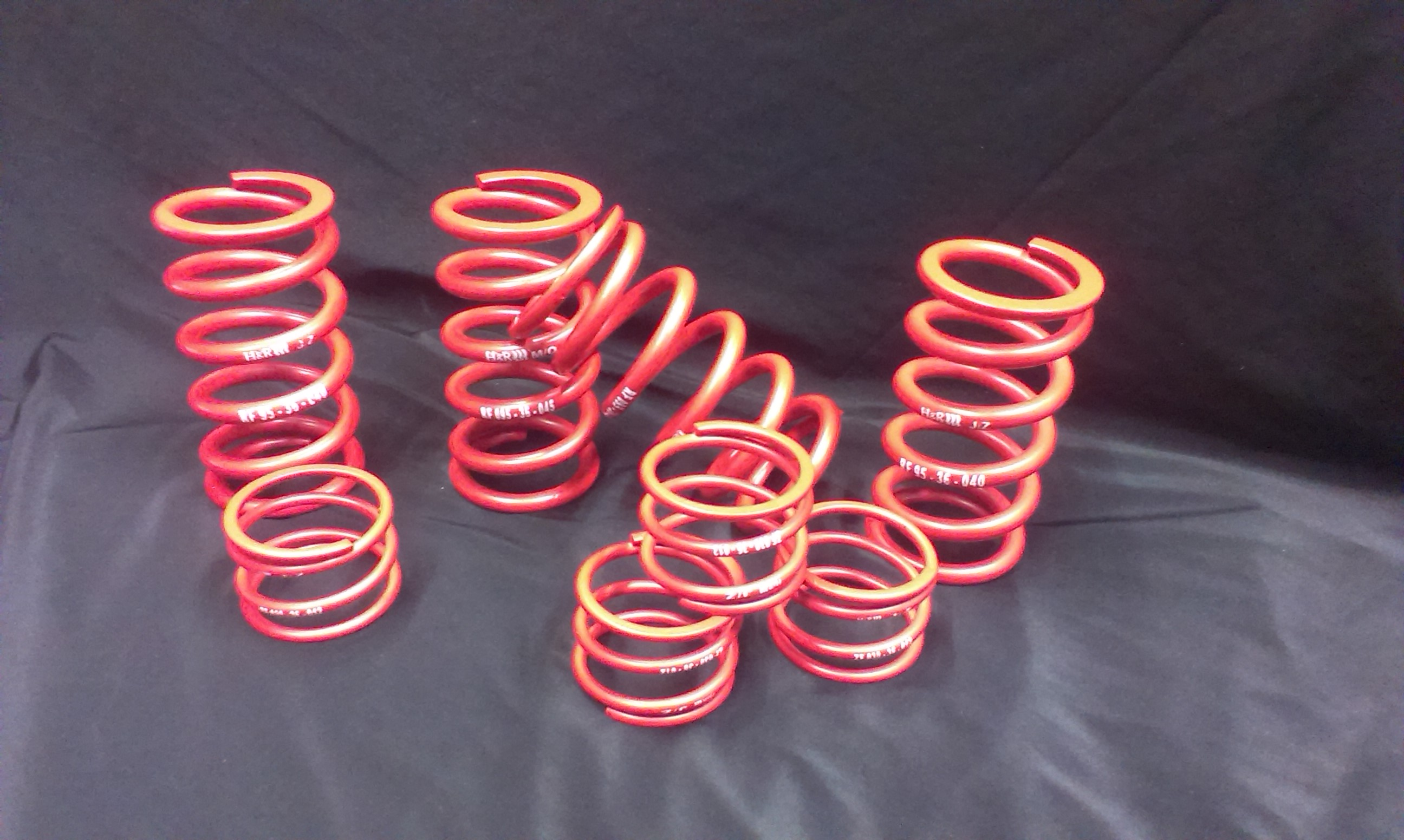 Springs by the professional suspension manufacturer H&R